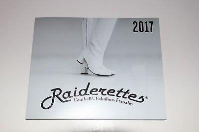 2017 OAKLAND RAIDERS RAIDERETTES UNIFORM SQUAD SHOT FLIP BOOK POSTER 3 FEET LONG (Oakland Raiders Uniformen)