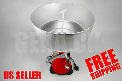 New Milk Cream Electric Centrifugal Separator Machine Metal 100lh Us Seller