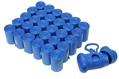 902 PET DOG WASTE POOP BAGS / DISPENSER BLUE CORELESS