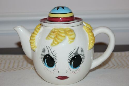Vintage Royal Sealy Google Eye Teapot