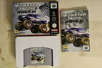 Monster Truck Madness 64 - OVP/Boxed Nintendo 64 N64 PAL