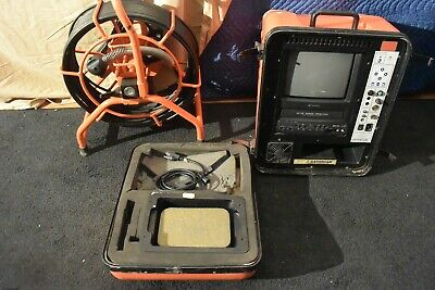 Gen Eye Camera Reel Vcrmonitor Bw 100 Cable 512hz Counter  Ridgid Seesnake