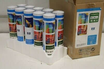 Case Of 10 Cans Hp Electroink Red Pantone Pms-186-c Hp Indigo Press 3000 4000