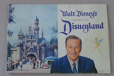 1959 Vintage Walt Disney's Guide to Disneyland Booklet