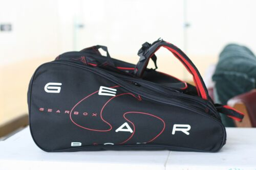 GEARBOX RACQUETBALL ALLY BAG M40 SERIES Red