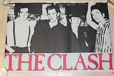 VINTAGE THE CLASH PROMO POSTER P643 CBS 1981