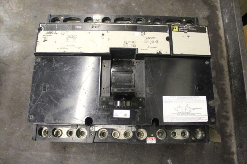 Square D Naal Circuit Breaker 1000a 1000 A Amp 600v Nal361000 Nal-361000