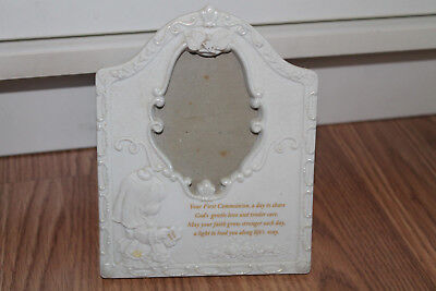 Precious Moments First Communion Picture Frame, 1997