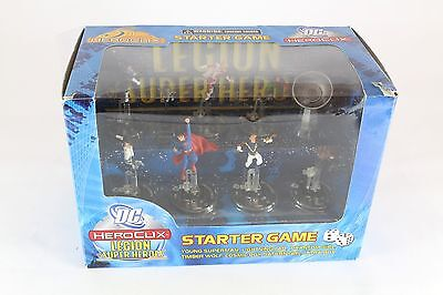 Heroclix DC Starter Set Legion Of Superheroes New Young Superman