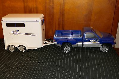Breyer Horse Dually Pickup Truck and Horse Trailer Collectible
