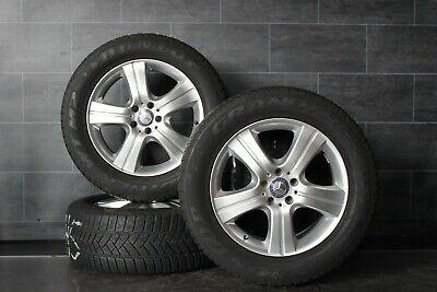 Original Mercedes M-Klasse w164 Alufelgen 18 Zoll Dunlop Winterräder 255 55 r18