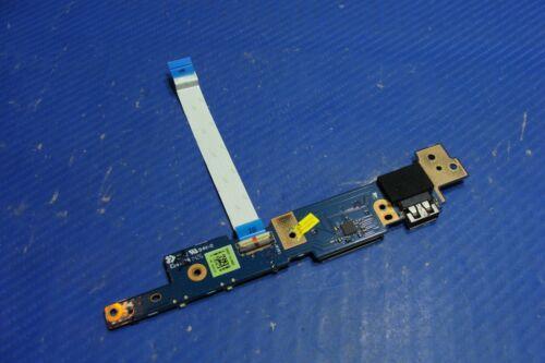 "Asus 13.3"" Q302la-bbi5t14 Oem Power Button Usb Board W/cable Nbx0001p700 Glp*"