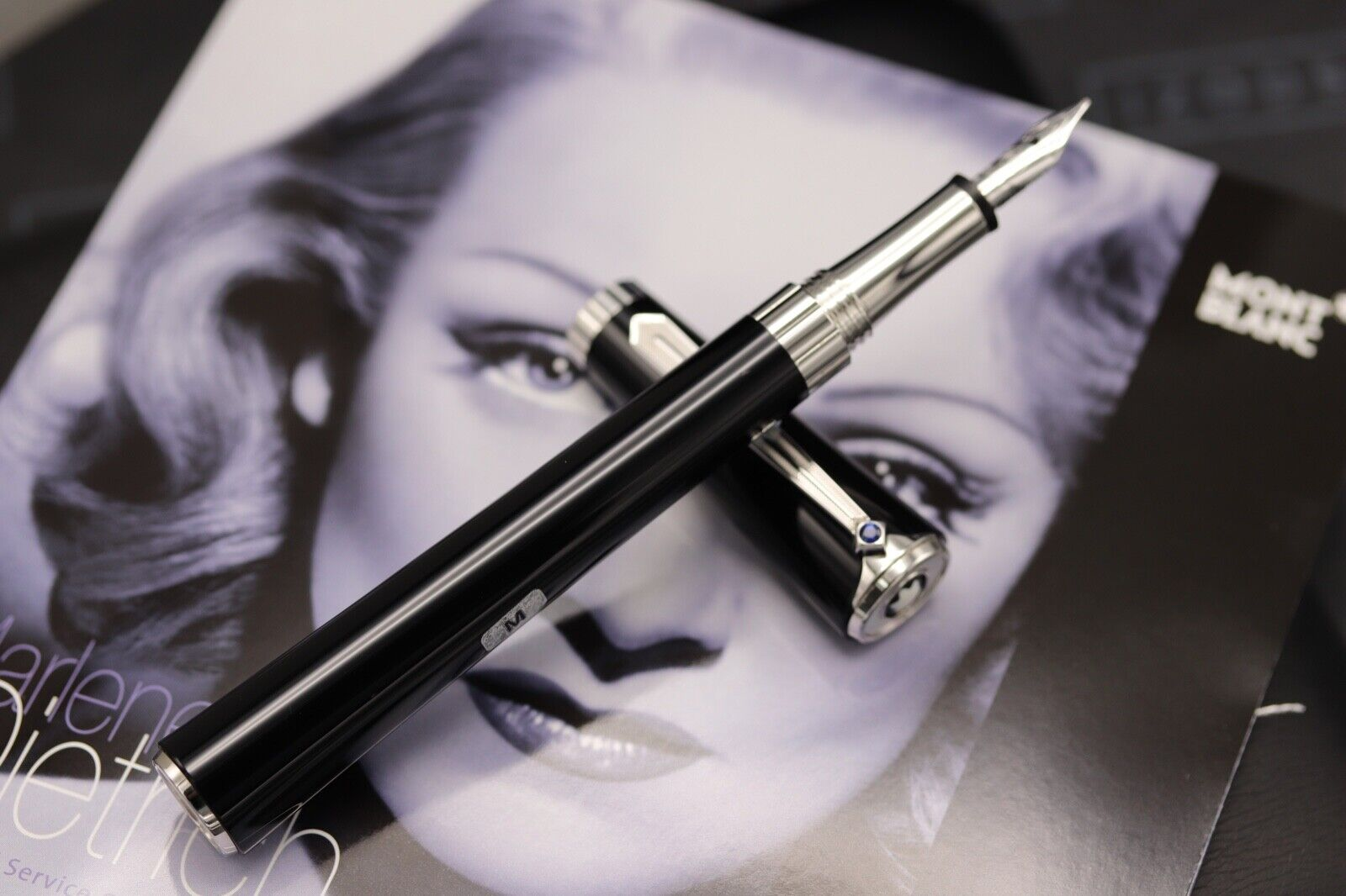 Montblanc Diva Line Marlene Dietrich Special Edition Fountain Pen - NEW MARCH 21 1