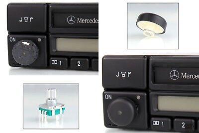 Reparaturset originale Drehknopf + Poti für Radio Mercedes-Benz special BE2210 ()