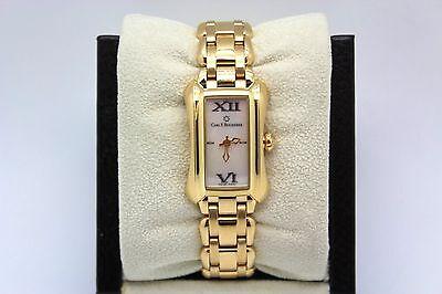 Carl F Bucherer Alacria Mini 18k Yellow Gold Mother of Pearl Dial Quartz Watch
