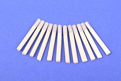 12 Glasfaser Ersatzpinsel 4 mm Glasfaserradierer Polierstift Reinigungsstift