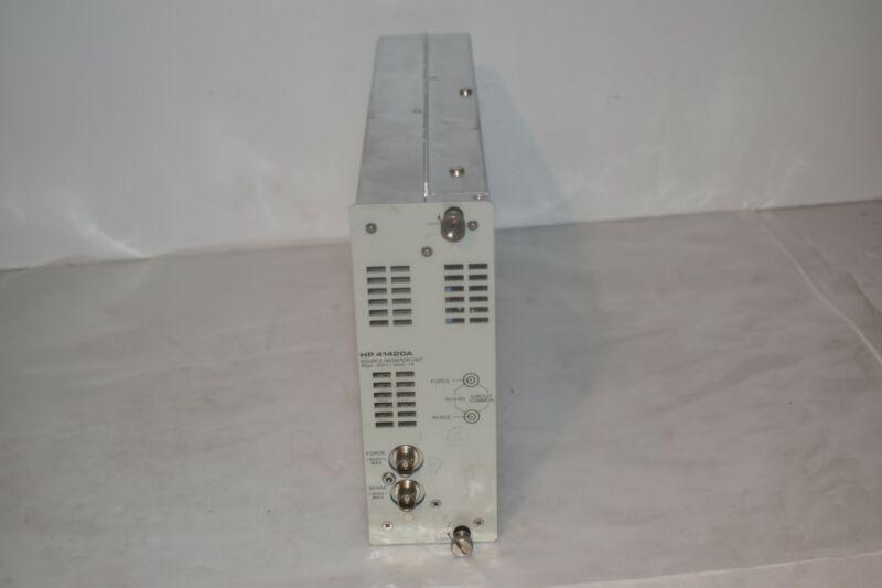 HP/Agilent 41420A Source/Monitor Unit, 40uV-200V / 20fA-1A  (JG14)