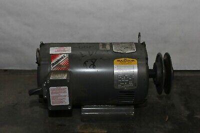 5hp 5 Horsepower Baldor 3 Phase Motor