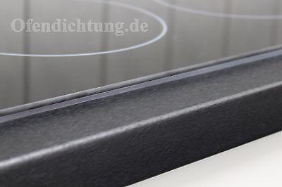 Dichtband Band Moosgummidichtung Dichtung 2,5m 10x3mm für Herd Backofen Kochfeld