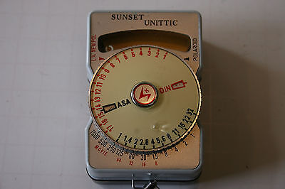Измерители света Vintage Sunset Unittic Model