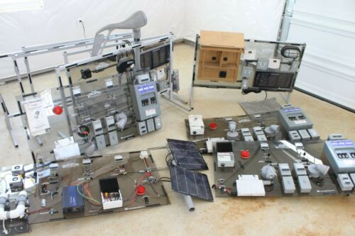 Marcraft Technology Training Panel GT-2000 Wind Turbine Sustainable Solar Power