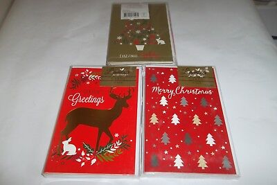 Christmas Cards Bulk Buy 3 x Packets of 10 x cards