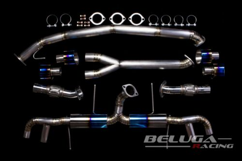 Beluga Racing for Nissan 09-16 Skyline GTR Titanium Performance Catback Exhaust