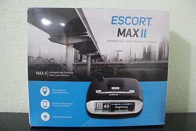 Escort Passport Max 2 HD Bluetooth GPS Intelligence Radar Detector - NEW
