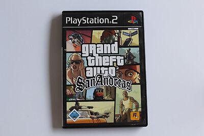 Sony Playstation 2 PS2 Spiel Grand Theft Auto GTA: San Andreas ()