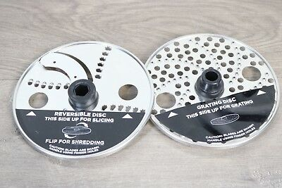 NINJA Mega Cookhouse System Food Processor Blade Set of 2 Discs *NEW*