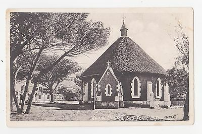 Sea Point Cape Town South Africa Round Church C 1909