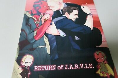 Age Of Ultron Jarvis (AGE of ULTRON Doujinshi JARVIS / TONY + VISON (66pages) RETURUN of)