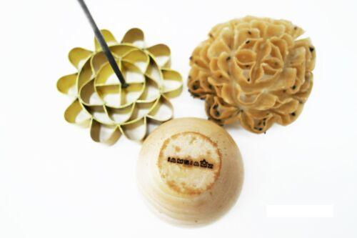 DOK JOK Cookie Bouquet Sunflower 3.0 Inch Diameter Crispy Biscuit Mold Brass