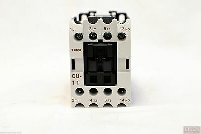 Teco Cu-11 Magnetic Contactor 24a 3 Phase 110v Coil 3a1a No Taian Cn-11