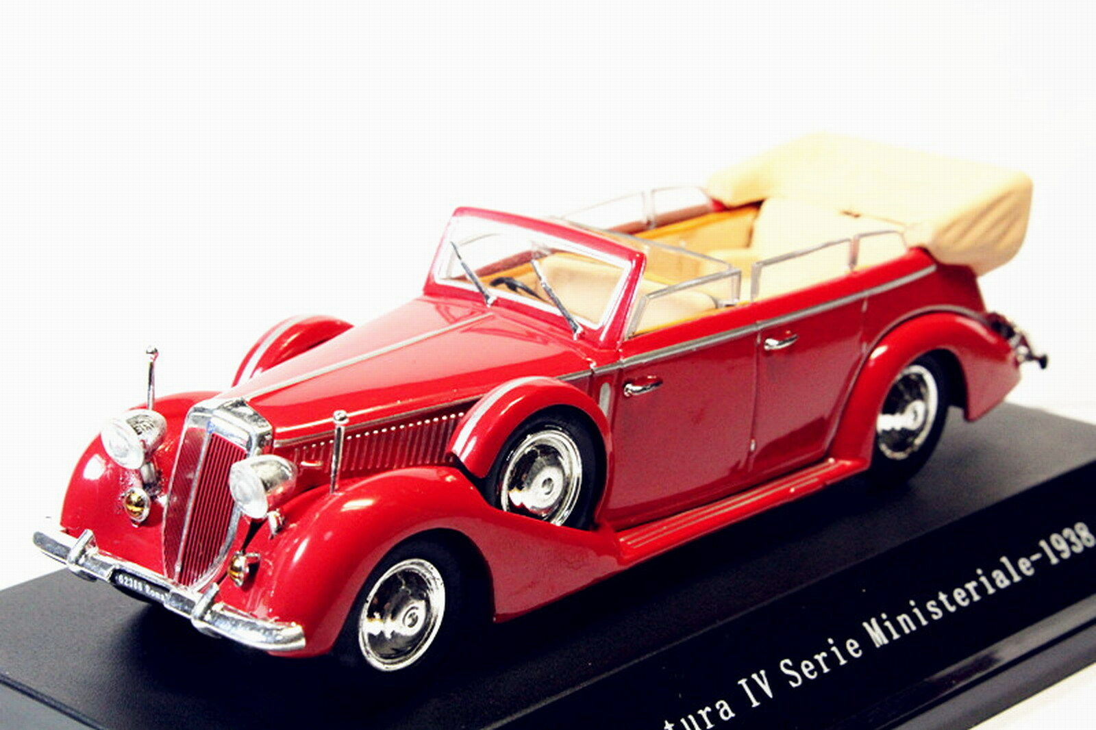 1/43 starline Lancia Astura Ministeriale IV Serie 1938 RED Diecast model Toy