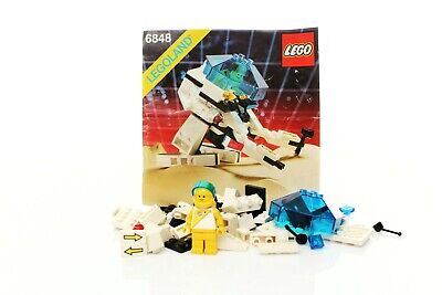 Lego Space Futuron Set 6848 Strategic Pursuer 100% complete + instructions 1988