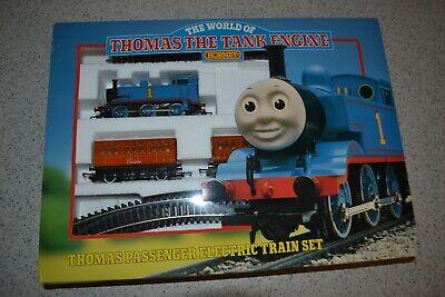 """Thomas the Tank Engine Hornby Thomas Passenger Electric Train Set NIB 44"""" X 31"""""""