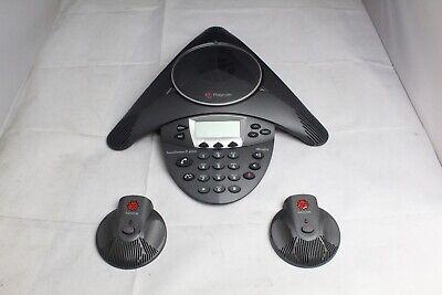 Refurbished Polycom Soundstation Ip 6000 Conference Phone W Mics 2201-15600-001