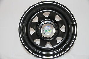 To-Suit-Mazda-BT50-Ford-Ranger-After-Market-17x8-Black-Sunraysia-Style-Steel-Rim