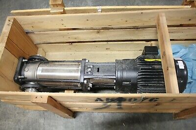Grundfos Pump Cri15-07 A96523645p1136420063 15hp 359.9ft 90.26gpm 232248 Psi