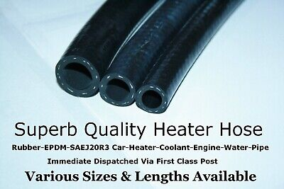 Flexible Rubber Car Heater Radiator Coolant Hose EPDM SAEJ20R3 Engine Water Pipe
