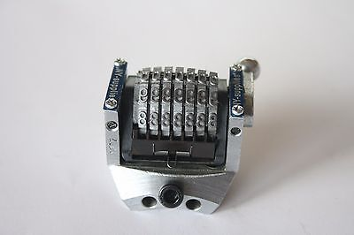 Rotary Convex Numbering Machine For Ryobi 520 522 3200 3400 Printing Press