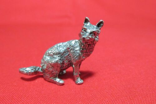 Pewter  Coyote Figurine