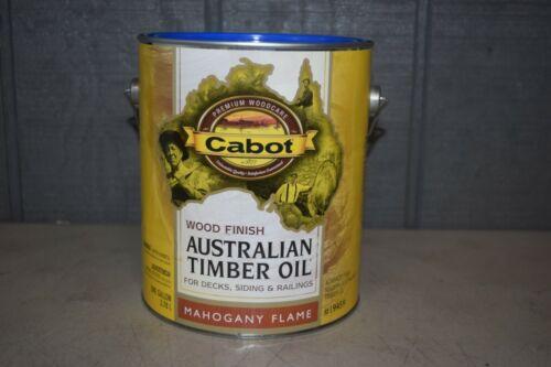 Cabot Australian Timber Oil Gallon Mahogany Flame