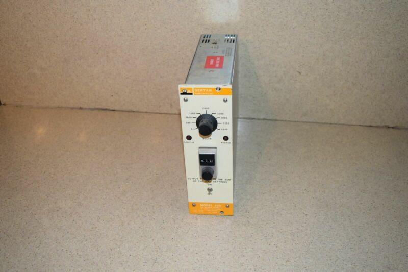 ^^ BERTAN 305 NIM BIN POWER SUPPLY (TP750)