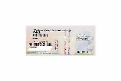 Dell Windows Vista Business OEMAct Lizenz Product Key Lizenzschlüssel ohne DVD Dell Windows Vista