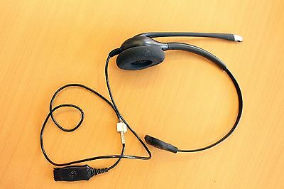 Plantronics SupraPlus HW251N Headset monaural Noise Cancelling guter Zustand Plantronics Supraplus Noise Cancelling Headset