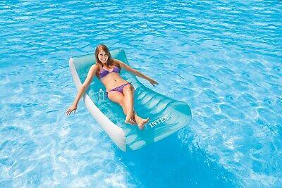 Wasser-lounge (Schwimmliege Rocking Lounge Wasserliege Badeinsel Luftmatratze Intex 58856)