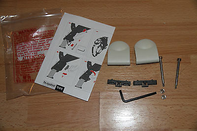 bugaboo bee plus (2010-2014 model) handle bar locks replacement set.New