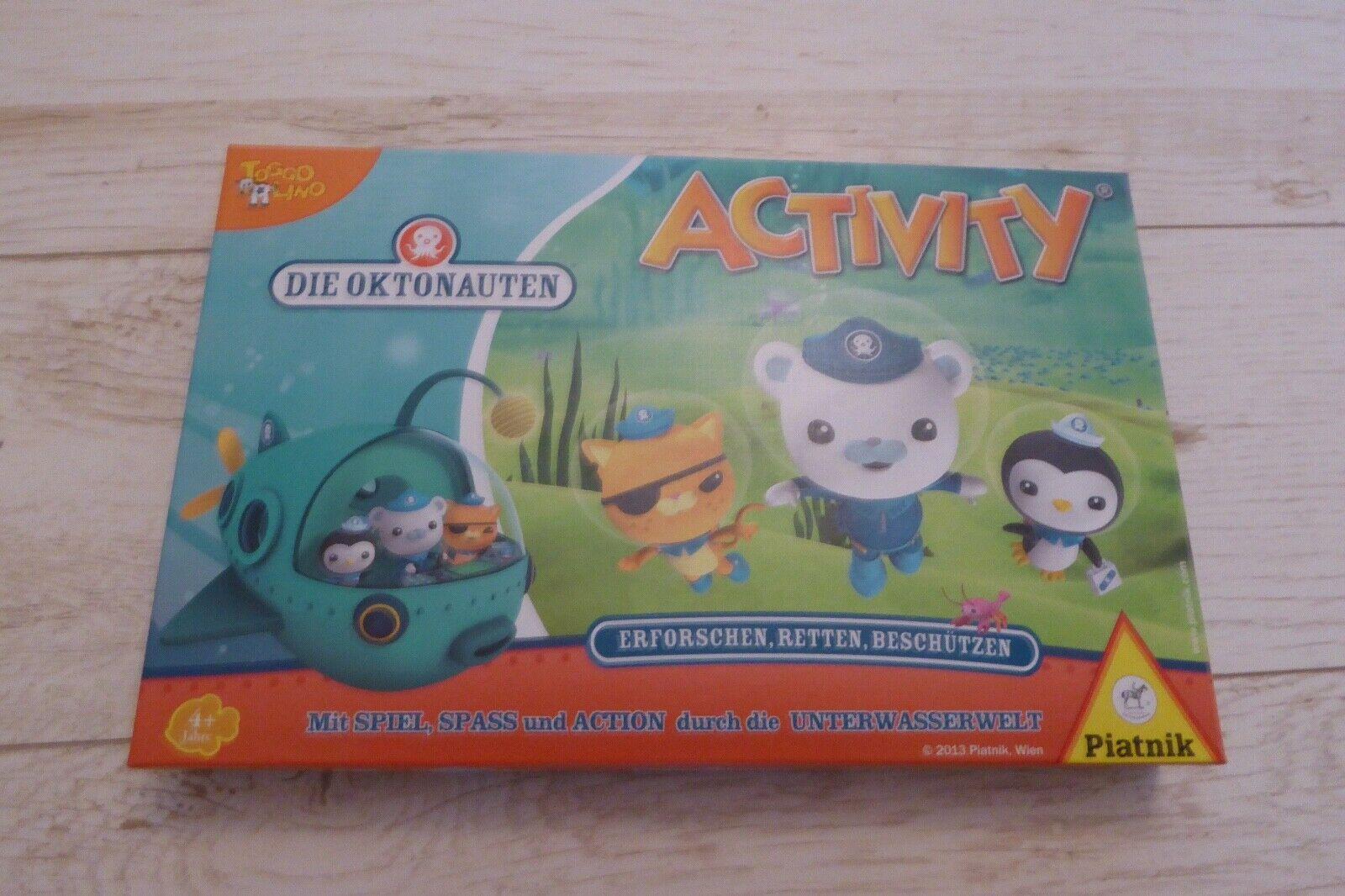 Die Oktonauten Activity Gesellschaftsspiel Kinder Piatnik 604942